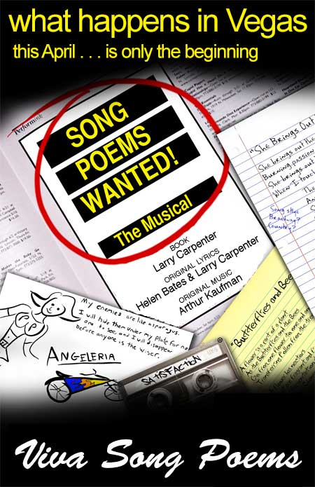 Song Poems Wanted! The Musical